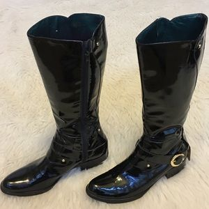 c9c8eb0b9b3b2 Sam Edelman Shoes - Sam Edelman Kailee riding Black leather boots 9M